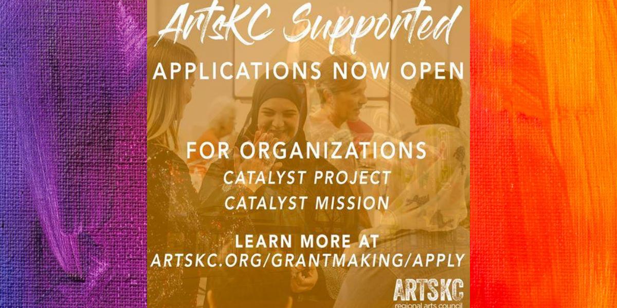 Arts KC Grant Applications Now Open