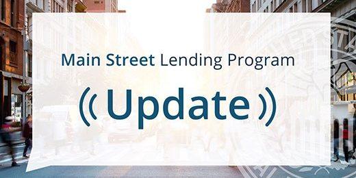 Main Street Lending Program Logo